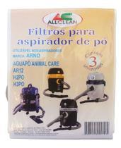 Saco Aspirador Po Arno Aguapó H2po H3po H2ac H4po 3unid. -
