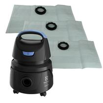 Saco Aspirador Pó Electrolux Hydrolux AWD01 com 3 Unidades - Filtrons