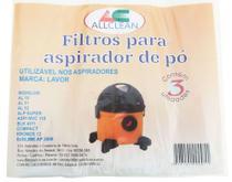 Saco Aspirador Po Lavor Compact 1400w, All11 Kit 3unid. -