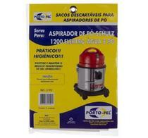 Saco Aspirador Schulz 1200 Elektro Agua E Pó Kit C/3 - 2192 - Porto-pel