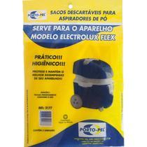 Saco De Aspirador De Pó Descartaveis Eletrolux Flex Ref2177 - Porto Pel