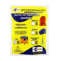Saco de aspirador descartavel eletrolux gt 220 pro/job 11223 - Porto-Pel
