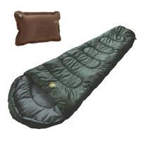 Saco De Dormir Camping Guepardo Ultralight 700gr + Travesseiro Inflável Smart -