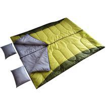 Saco de Dormir de Casal Moon com Travesseiro 12ºC a 25ºC - EchoLife -