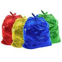 Saco De Lixo 20 Litros Coloridos 4 Pacotes 400 Unidades - Cometa