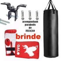 Saco De Pancada 70x90+suporte De Teto! Kit Completo Barato - Tudomix