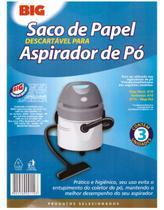 Saco de papel descartavel para aspirador de po 3 UN A10 - Eletrolux