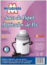 Saco de papel descartavel para aspirador de po 3 UN AP40 - Eletrolux