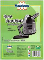 Saco de papel descartavel para aspirador de po 3 UN TRIO - Eletrolux