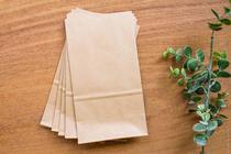 Saco de papel kraft com base c/24 unid. - Artfesta