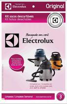 Saco descartável a10 a13 aqp10 e gt200 electrolux - 3 un (dt30ahbr003) -