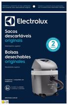 Saco descartável aspirador electrolux  hidrovac kit com 3 unidades -