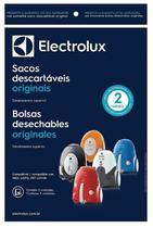 Saco Descartável com 3 Unidades Para Aspirador  Electrolux Original Neo / Listo -
