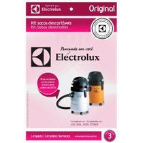 Saco Descartável Eletrolux para Aspirador Pó GT3000/GT2000/A20S/A20L - Electrolux