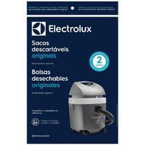 Saco Descartável Eletrolux para Aspirador Pó Hidrovac 10lts - Electrolux