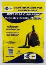 Saco Descartavel Para Aspirador De Pó Eletrolux Listo - Portopel
