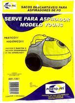 Saco Descartável Para Aspirador Modelo Young. - Porto-Pel