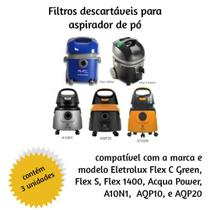 Saco Descartavel Para Aspirador Tipo Eletrolux C/3 Unidades - Oriplast