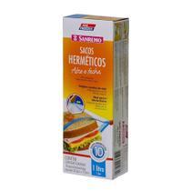 Saco hermético Sanremo 10 unidades 1 litro - 21938 -