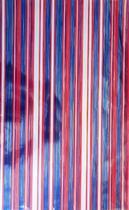 Saco metalizado - new stripes américa: 35x55 c/ 50 un - Wp+