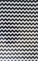 Saco metalizado - zig preto c/ branco: 35x55 c/ 50 un - Wp+
