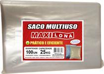 Saco multiuso transparente 45x60 cm ref 200 micras fardo 100 un - Maxilona