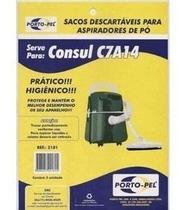Saco P/ Aspirador de Pó Consul C7A14 C/ 3 pçs - Porto-Pel
