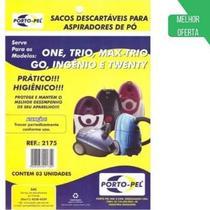 Saco P/ Aspirador De Pó One-trio -max-trio Ref:2175 - Porto-Pel