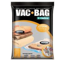 Saco para armazenamento à vácuo Vac Bag grande transparente Ordene -
