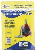 Saco Para Aspirador De Pó Eletrolux Listo ( 3 Unidades) 2178 - Porto-Pel