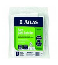 Saco para Entulho Rafia 40Kg 5 Peças REF-AT5080 Atlas - Pinceis Atlas