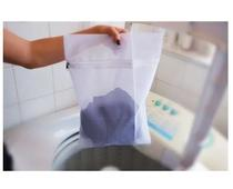 Saco Para Lavar Roupa Intimas/delicadas M Com Zíper 48x40 - Riber Capas