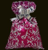 Saco soft touch - arabesco pink: 45x59 c/ 50 un - Wp+