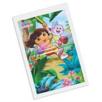 Sacola Plástica Surpresa Dora Aventureira 08 unidades - festabox