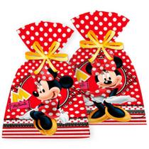 Sacola Surpresa para Lembrancinhas da Minnie kit com 8 unid - Regina