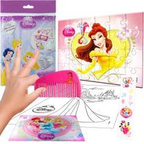 Sacolinha  Surpresa Bela com Pente Princesas Disney - Cim