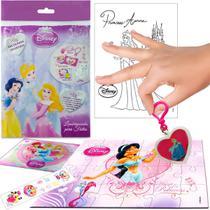 Sacolinha Surpresa Jasmine com Chaveiro Princesas Disney - Cim