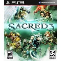 Sacred 3 - Ps3 - Deep silver