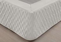 Saia Box Queen Premium Fendi 200 Fios Matelassê Naturalle - Naturalle Fashion