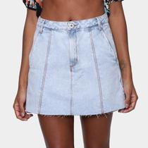 Saia Jeans Oh Boy Midi Feminina - Oh,Boy!