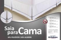 Saia Ortobom Para Cama Box Queen 160 -