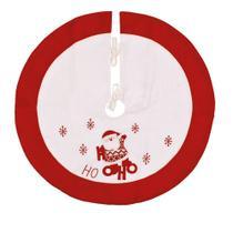 Saia para árvore de natal Ho Ho Ho - 90cm - Cromus