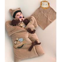 Saída de Maternidade Menino Baby Safari Bege - Tieloy