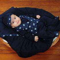 Saída de Maternidade Menino Luxo Coroa Baby - Tieloy