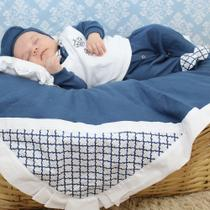 Saída de Maternidade Menino Príncipe Gabriel Marinho - Zany Baby