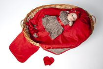 Saida maternidade oncinha charmosa vermelha - Nana Lobela