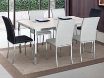 Sala de Jantar Bariloche com 6 Cadeiras  - Brigatto