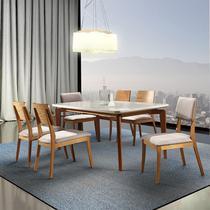 Sala De Jantar Florença Mesa 180 Cm 06 Cadeiras - Tradição