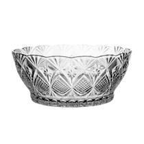 Saladeira Bowl Relevo de Vidro 23cm - Kig -