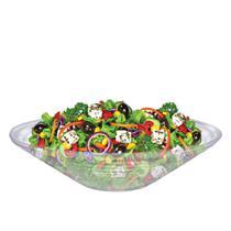 Saladeira - Fruteira de Vidro Redonda Gourmet Reta Ruvolo -